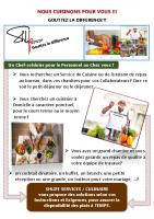 Plaquette SHLIFE Culinaire